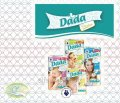 Подгузники Dada Premium Extra Soft, 2 мини, 3 миди, 4 макси, 5 юниор