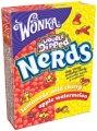 Nerds от Вилли Вонка (Willy Wonka)  Apple-Watermelon and Lemonade-Wild Cherry 46.7g