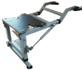 Опора НА БАЛЛОН складная под поворотное кресло в лодку ПВХ(крепление на баллон)