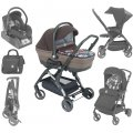 Baby carriage of Cam FLUIDO ART 3 in 1 color brown