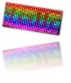 Светодиодные полноцветные бегущие ленты