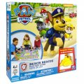 "Board game ""Puppyish patrol: a rescue operation on the beach"