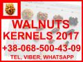 WALNUT KERNELS. HARVEST 2017. HALVES 1/2. QUARTERS 1/2. SMALL PARTS. PREORDERS