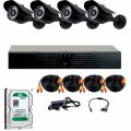 Проводной комплект видеонаблюдения Covi Security Ahd-4W Kit+Hdd500