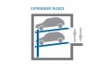 Автомобильная парковочная система KIPPARKER N3302