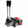The hydraulic distributor from a dvum sections 40L for plungers