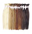 Натуральные славянские волосы в срезе