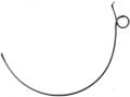 Пружина причіпних граблів ГПП