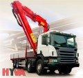 Set of three-planimetric universal hydraulics of Hyva on special equipmen