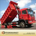 Hyva hydraulics on the dump truck in Poltava