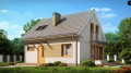 Деревянный каркасный дом (Проект Z211)