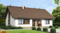 Дачный каркасный дом (Проект RS1-71)