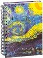Скетчбук Ван Гог. Звёздная ночь- 01207 (А6)