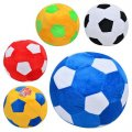 Мяч MP 0466 (72шт) мягкая игрушка, футбольный, 5 цветов, 20см (шт.)