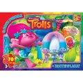 TR0071 Пазли ТМ G-Toys із серії Тролі, 70 елементів (шт.)