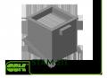Стакан монтажный утепленный cо встроенным клапаном STAM 211