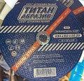 Круг зачистной по металлу Титан Абразив 230Х6,0Х22 mm