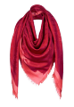 Louis Vuitton (Louis Vuitton) - a scarf + Dior earrings