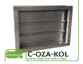 Flap check valve C-OZA-KOL-045