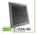 Решітка вентиляційна захисна C-OZA-RS-035