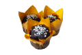 Мафін шоколадний з абрикосовою начинкою 95 г