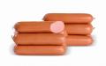 Polyamide barrier frankfurter casings