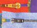 Zippers metal M45, M60