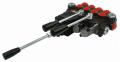 Распределитель гидравлический 40 л с двумя движками и джойстиком