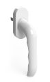 Дверной гарнитур SAFIR WC белый