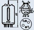 Лампа генераторная ГУ-18-1