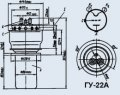 Лампа генераторная ГУ-22А