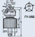Лампа генераторная ГУ-35Б