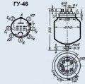 Лампа генераторная ГУ-46
