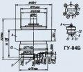 Лампа генераторная ГУ-84Б