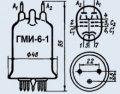 Лампа модуляторная ГМИ-6-1