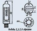 Лампа пальчиковая 6Ж45Б-В