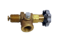 The angular Rego 7550P valve the gate of liquid phase SUG, butane propane, the crane of the liquefied gas
