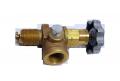 Угловой клапан Regо 7550Р вентиль жидкой фазы СУГ, пропана бутана, кран сжиженного газа