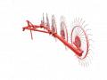 Грабли колесно-пальцевые Солнышко на 5 колес