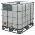 Еврокуб SCHUTZ на метал/пласт. поддоне IBC-контейнер 1000 литров.
