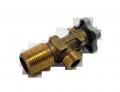 Вентиль для баллона ВБ-2 клапан баллонный для СУГ, пропана бутана, кран сжиженного газа