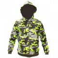 Jacket raglan camouflage bright lime 10004003