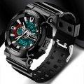 Часы спортивные Sanda Powerful Water Resistant 30 m черные