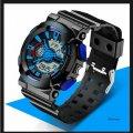 Часы спортивные Sanda Powerful Water Resistant 30 m синие