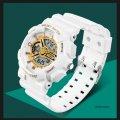 Часы спортивные Sanda Powerful Water Resistant 30 m белые