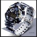 Часы спортивные Sanda Water Resistant 30 m с секундомером белая ночь