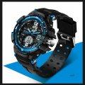 Часы спортивные Sanda 30 m résistant à l'eau jeu regarder синие