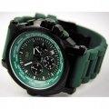 Часы мужские наручные хронограф Flieger зеленые