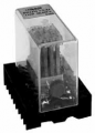 Relay intermediate on-off small-sized RP 12M