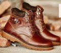 Мужские кожаные ботинки 38-44, модель 976